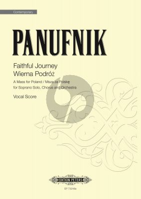 Panufnik Faithful Journey: A Mass for Poland Soprano-Chorus and Orchestra (Vocal Score)