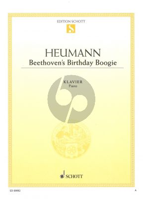 Heumann Beethoven's Birthday Boogie klavier solo
