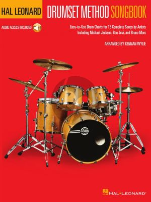 Wylie Hal Leonard Drumset Method Songbook (Book with Audio online)
