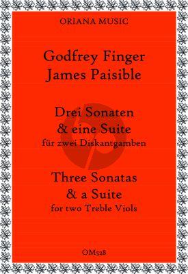 Drei Sonaten und eine Suite 2 Treble Viols (Johanna Valencia und Richard Carter)