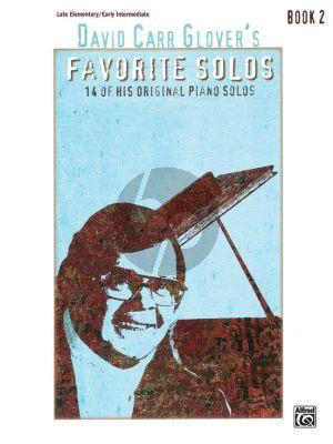 David Carr Glover's Favorite Solos Book 2 Piano