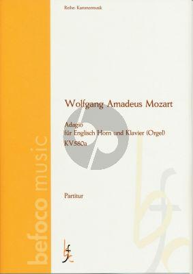 Mozart Adagio KV 580a English Horn und Klavier [Orgel]