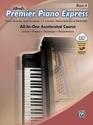 Premier Piano Express, Book 4 (Bk-Audio Online) (All-In-One Accelerated Course)