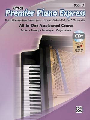 Premier Piano Express, Book 3 (Bk-CD-Online Audio) (All-In-One Accelerated Course)