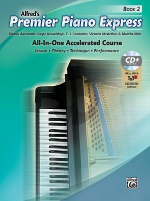 Premier Piano Express, Book 2 (Bk-CD-Online Audio) (All-In-One Accelerated Course)