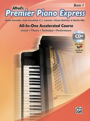 Premier Piano Express, Book 1 (Bk-CD-Online Audio) (All-In-One Accelerated Course)