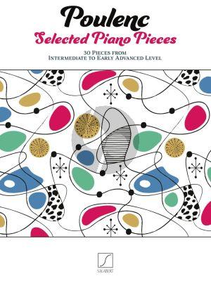 Poulenc Selected Piano Pieces (30 Pieces)