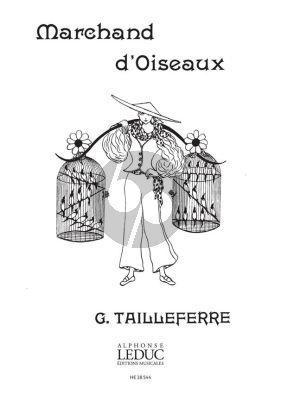 Tailleferre Marchand d'oiseaux Piano 4 hds