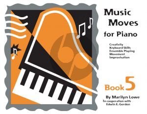 Music Moves for Piano Student Book 5 (Book with Audio Online)