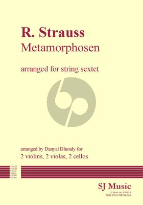 Strauss Metamorphosen 2 Violins-2 Violas and 2 Violoncellos (Parts) (transcr. by Danyal Dhondy)