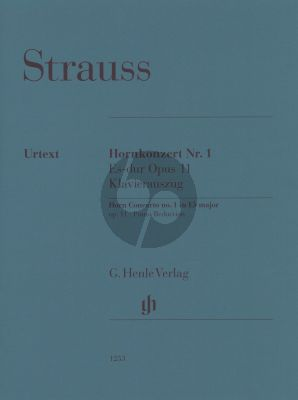 Strauss Horn Concerto no. 1 E flat major op. 11