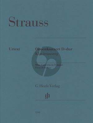 Strauss Oboe Concerto D major