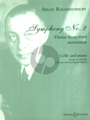 Symphony No.2 Theme from 3rd Movement Cello and Piano