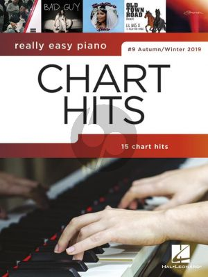 Really Easy Piano: Chart Hits 9 (Autumn-Winter 2019) (piano)