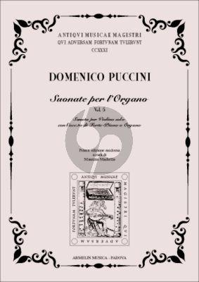 Puccini Sonata per Violino con accompagnamento di Forte-Piano o Organo. (Edited by Maurizio Machella)