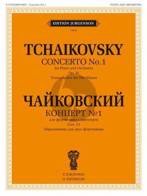 Tchaikovsky Concerto No.1 B-minor Op.23 for 2 Piano´s