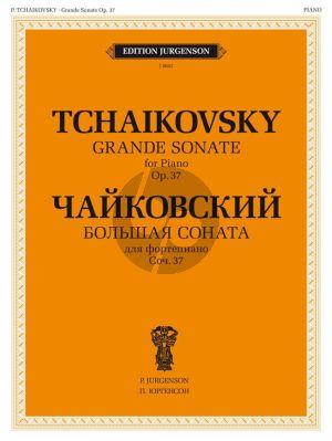 Tchaikovsky  Grand Sonata Op.37 G-major Piano solo (ed. Y. Milstein)