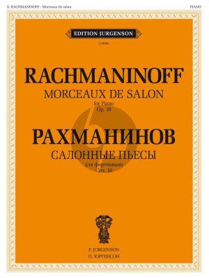 Rachmaninoff Morceaux de Salon Op.10 Piano solo