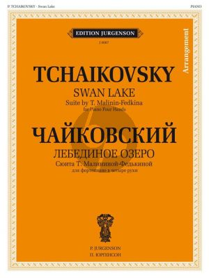 Tchaikovsky Swan Lake Suite for piano 4 hands
