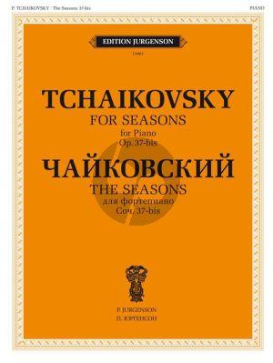 Tchaikovsky Die Jahreszeiten / The Seasons Opus 37bis Piano Solo (ed. Y. Milstein)