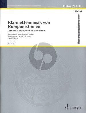 Klarinettenmusik von Komponistinnen Klarinette und Klavier (18 Stucke)