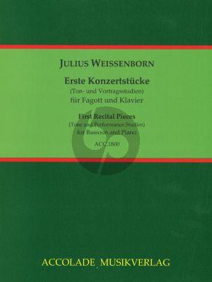 Weissenborn Konzertstücke für Anfänger Fagott und Klavier