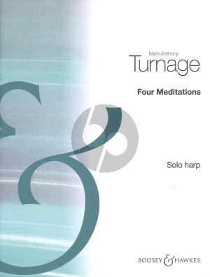 Turnage 4 Meditations Harp solo