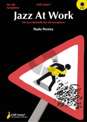 Pereira Jazz at Work for All Saxophones (Book with CD)