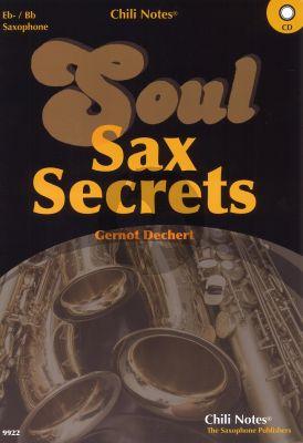 Dechert Soul Sax Secrets Eb and Bb Saxophone (Book with CD)