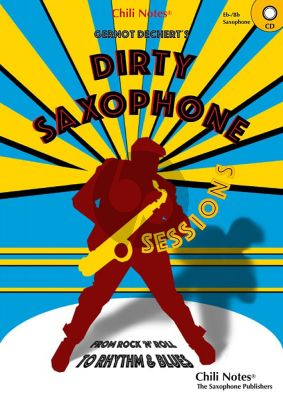 Dechert Dirty Saxophone Sessions for Eb and Bb Saxophones (Book with CD)