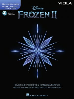 Frozen 2 - Instrumental Play-Along Viola (Book with Audio online)