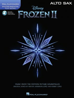 Frozen 2 - Instrumental Play-Along for Alto Saxophone (Book with Audio online)