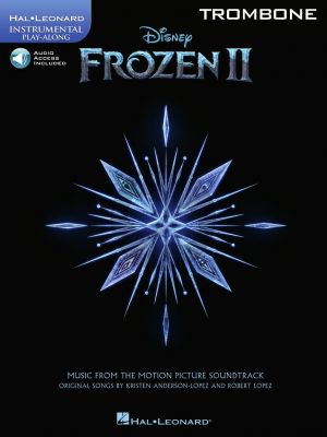 Frozen 2 - Instrumental Play-Along for Trombone (Book with Audio online)