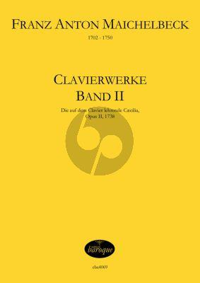 Maichelbeck Clavierwerke Op. 2 Band 2 (1738) (Jörg Jacobi)