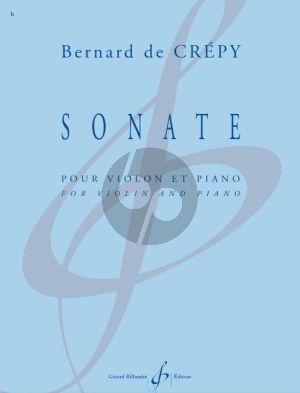 Crepy Sonate pour Violon et Piano