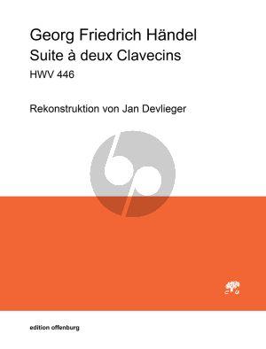 Handel Suite a deux Clavecins HWV 446 (rekonstruiert von Jan Devlieger)