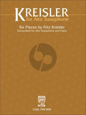 Fritz Kreisler for Alto Saxophone