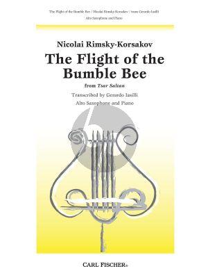 Rimsky-Korsakov Fight of the Bumble Bee Alto Saxophone and Piano (from Tsar Saltan) (arr. Gerardo Iasilli)