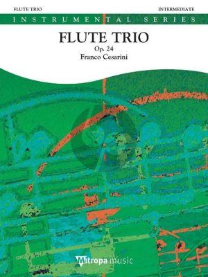 Cesarini Flute Trio Op.24 for 3 Flutes