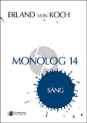 Koch Monologue No.14 Vocie Solo (Optional key)