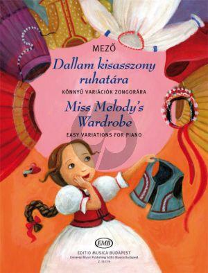 Mezo Miss Melody's Wardrobe Piano solo (Easy Variations)