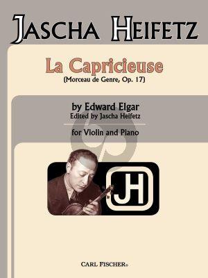 Elgar La Capricieuse Op. 17 Violin and Piano (edited by Jascha Heifetz)