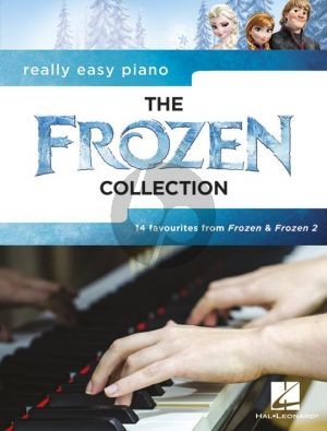 Really Easy Piano the Frozen Collection (14 Favourites from Frozen and Frozen 2)