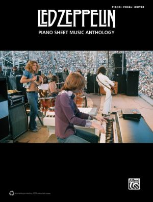 Led Zeppelin: Piano Sheet Music Anthology (Piano-Vocal-Guitar)