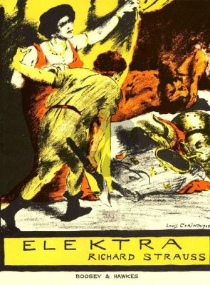 Strauss Elektra Vocal Score (German-English)