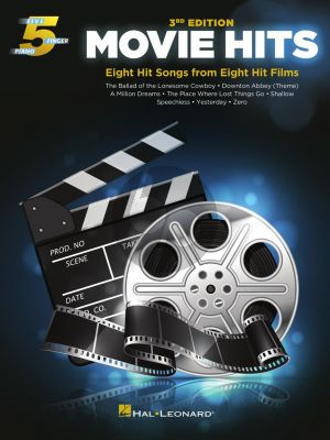 Movie Hits for 5 Finger Piano (3rd edition)