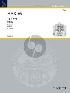 Hakim Tanets for Organ