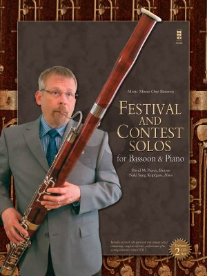 Festival and Contest Solos for Bassoon and Piano (Bk-Cd) (MMO)