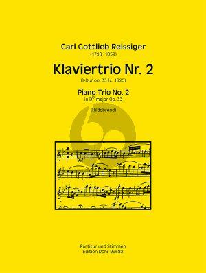 Reissiger Trio No.2 B-dur Op. 33 Violine-Violoncello und Klavier (Christian Hildebrand)