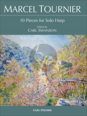 Tournier 10 Pieces for Solo Harp (Edited by Carl Swanson)